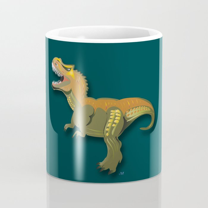 Dinosaur - 'A Fantastic Journey' Coffee Mug