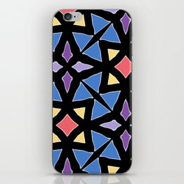 Stained Glass Color Pattern Art iPhone Skin