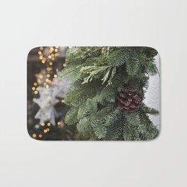 Christmas Wreath Bath Mat