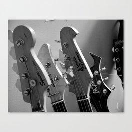 Girls Rock Guitar Heads Canvas Print