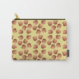 Yellow small Clams Illustration pattern Carry-All Pouch