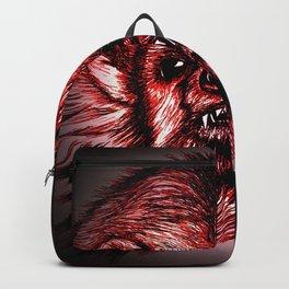 Badger Bad Red Backpack