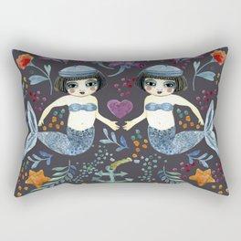 Mermaid Spring Rectangular Pillow