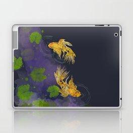 Dark Golden Waters Laptop & iPad Skin