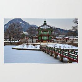 Winter Hyangwon-jeong, Gyeongbokgung Rug