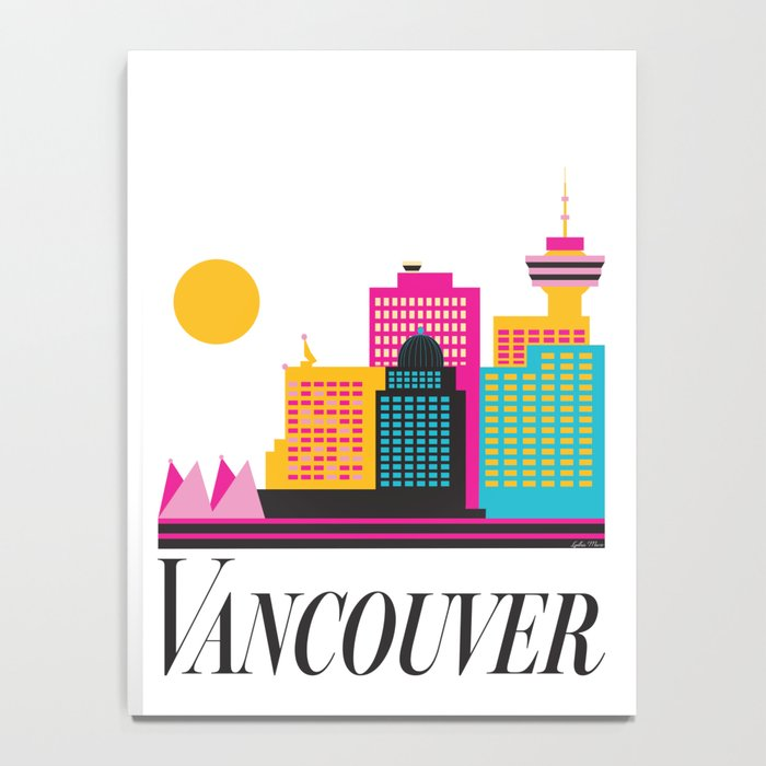 Vancouver Coal Harbour Notebook