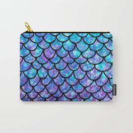 Purples & Blues Mermaid scales Carry-All Pouch