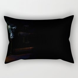 Dark Shadows Digital Painting Barnabas the Tired Rectangular Pillow