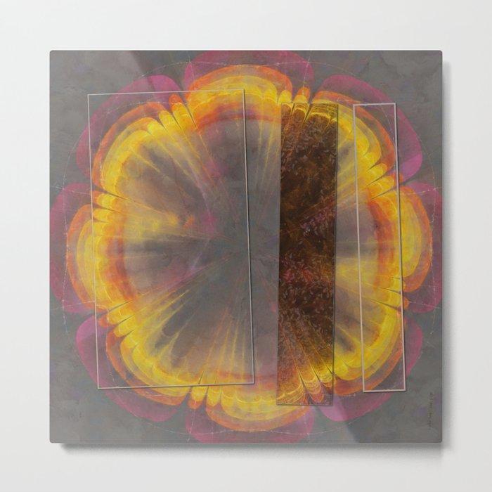 Sapful Woof Flower  ID:16165-124231-30851 Metal Print
