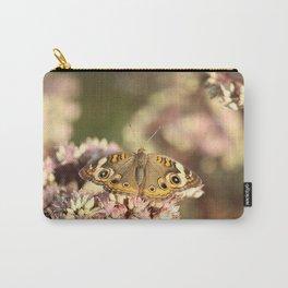 Buckeye Butterfly Macro Carry-All Pouch