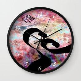 Black Hole Line Wall Clock