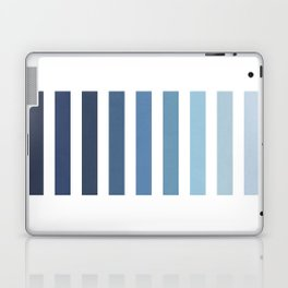 Sky and Water Blue Palette Laptop & iPad Skin