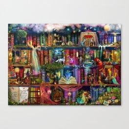 Whimsy Trove - Treasure Hunt Canvas Print