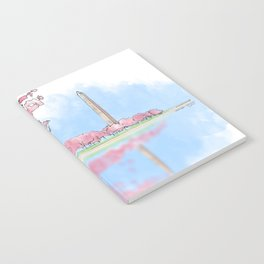 Cherry Blossom - Washington Monument Notebook