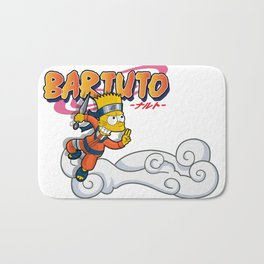 Bartuto: Bart Simpson meets Naruto Uzumaki Bath Mat