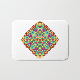 Four Owls Mandala Bath Mat