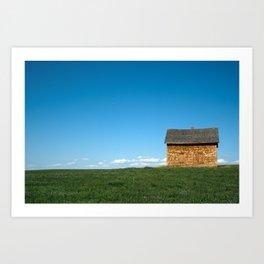 Small Farm House Art Print