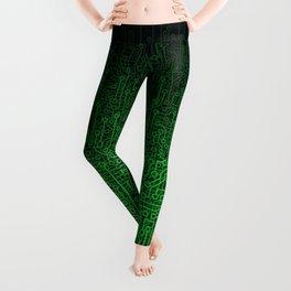 Reboot II GREEN Leggings