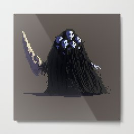 Darksouls fan art - Nito Metal Print
