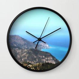 Cefalu´ vista da Pollina (Sicily) Wall Clock