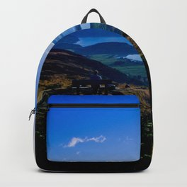 lake wanaka covered in blue colors new zealand beauties and mountains at sunrise Backpack