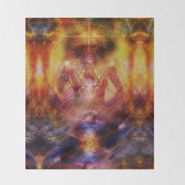 Deep Meditation Throw Blanket