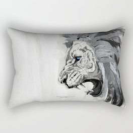Lion - The king of the jungle Rectangular Pillow