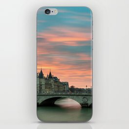 Paris by night France iPhone Skin