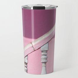 Pink Stairway Travel Mug