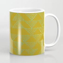 event of a thread: olive & aqua Coffee Mug
