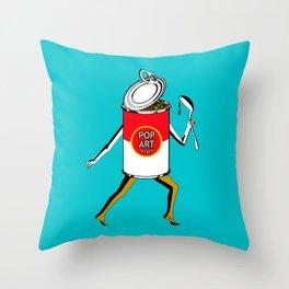 Pop Art to Go Throw Pillow