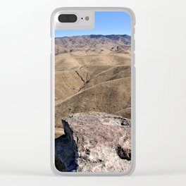 Cliffland Clear iPhone Case