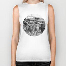 Vintage Swimsuit Models Biker Tank
