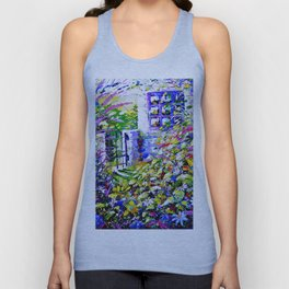 Country Garden Retreat Unisex Tank Top