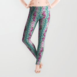 Swan and Roses Leggings