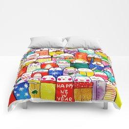 Snow People Comforters