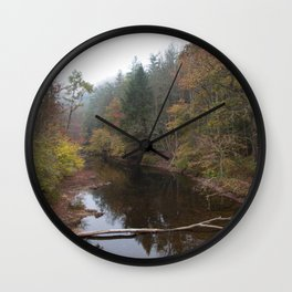 Clear Fork Wall Clock