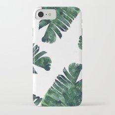Banana Leaf Watercolor #society6 #buy #decor Slim Case iPhone 7