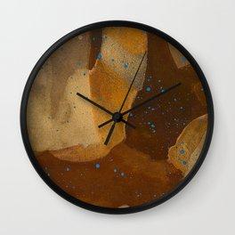 joelarmstrong_rust&gold_69 Wall Clock