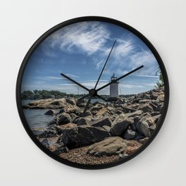 Winter Island Lighthouse Wall Clock