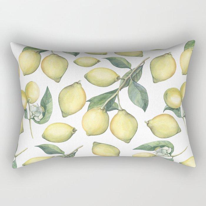 Lemon Fresh Rectangular Pillow