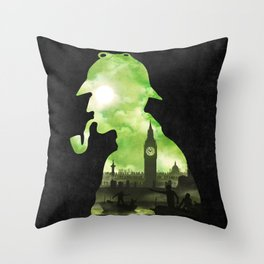 The Cursed Treasure Throw Pillow