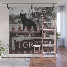 Le Chat Noir Wall Mural