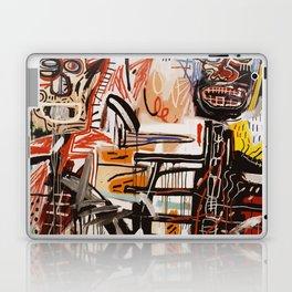 A vectorised Basquiat Laptop & iPad Skin