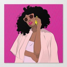 Solange Canvas Print