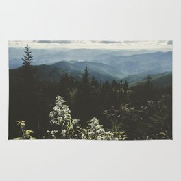Smoky Mountains - Nature Photography Rug