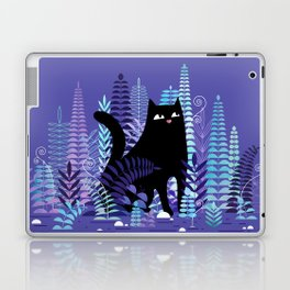 The Ferns (Black Cat Version) Laptop & iPad Skin