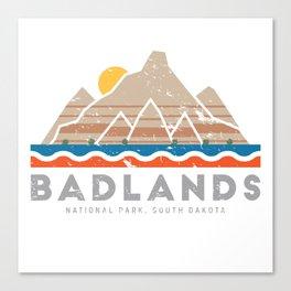 Badlands National Park, South Dakota Canvas Print