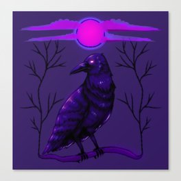 Rise of the Raven Canvas Print