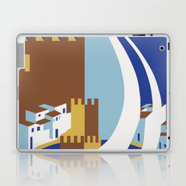 Come to the islands retro travel Laptop & iPad Skin